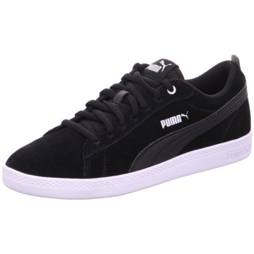 Puma Sneaker LowPuma Smash Wns schwarz