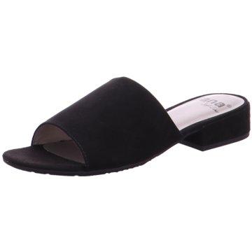 Jana Top Trends Pantoletten schwarz