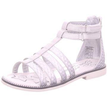 Tom Tailor Offene Schuhe weiß