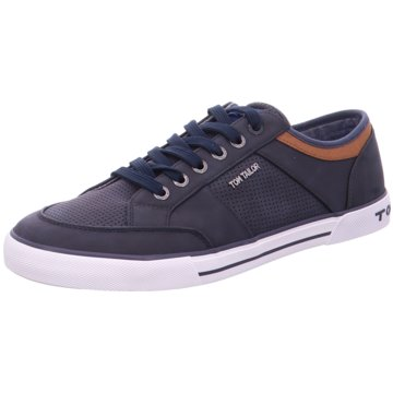 Tom Tailor Sneaker Low blau