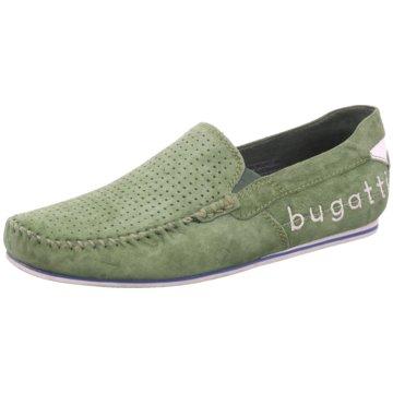 Bugatti Mokassin SlipperCherokee II grün