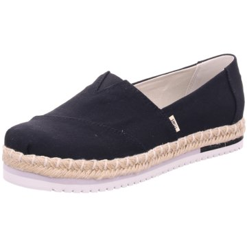 TOMS Top Trends Slipper schwarz