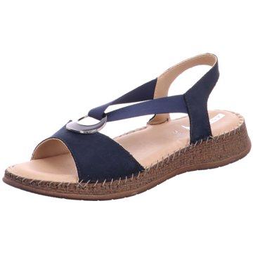 Jenny Komfort Sandale blau