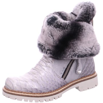 New Italia Shoes Winterboot silber