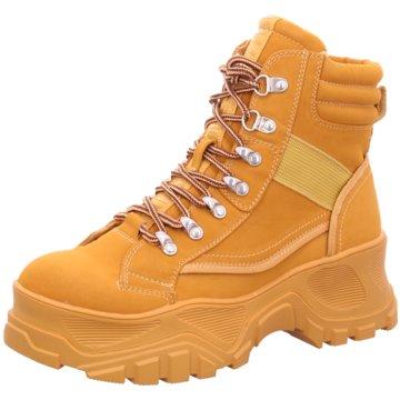 Buffalo Plateau Sneaker gelb