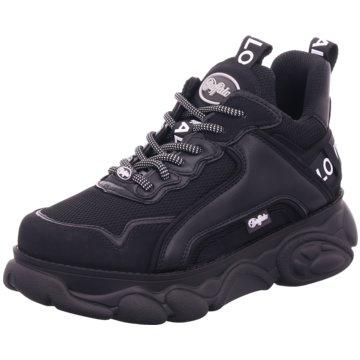 Buffalo Plateau Sneaker schwarz
