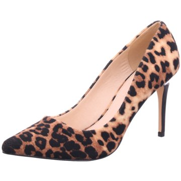Buffalo Top Trends High Heels animal