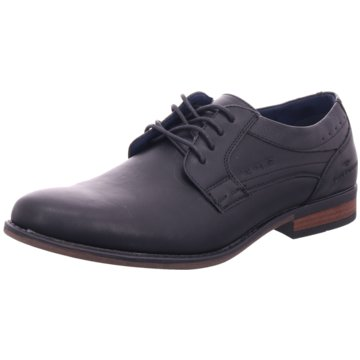 Tom Tailor Eleganter Schnürschuh blau
