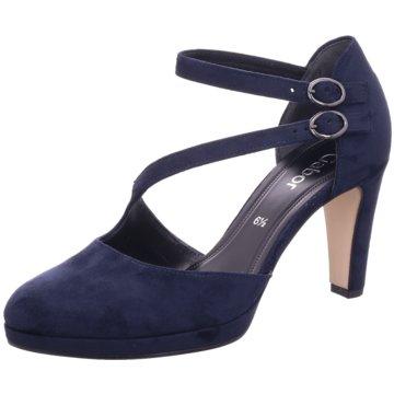 Gabor Slingpumps blau