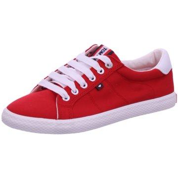 Tom Tailor Sportlicher Schnürschuh rot