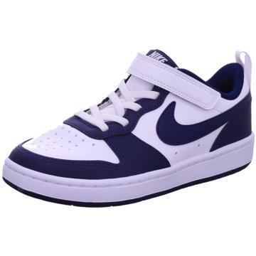 Nike Sneaker LowCOURT BOROUGH LOW 2 - BQ5451-107 weiß