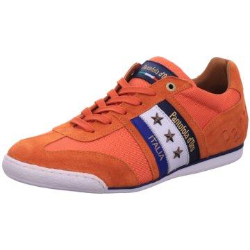 Pantofola d` Oro Sportlicher Schnürschuh orange
