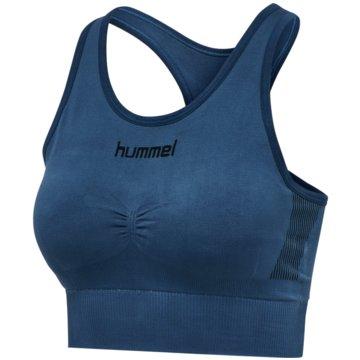 Hummel Sport-BHFIRST SEAMLESS BRA WOMEN - 202647 blau