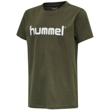 Hummel T-ShirtsHMLGO KIDS COTTON LOGO T-SHIRT S/S - 203514 lila