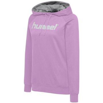 Hummel HoodiesHMLGO COTTON LOGO HOODIE WOMAN - 203517 rosa