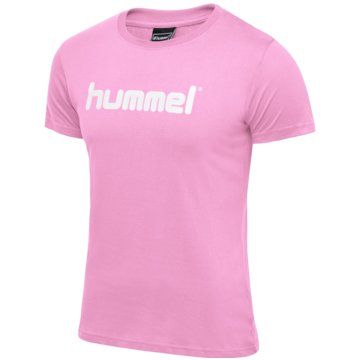 Hummel LangarmshirtHMLGO COTTON LOGO T-SHIRT WOMAN S/S - 203518 rosa