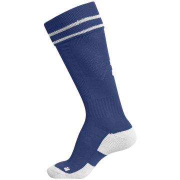 Hummel Hohe SockenELEMENT FOOTBALL SOCK - 204046 blau