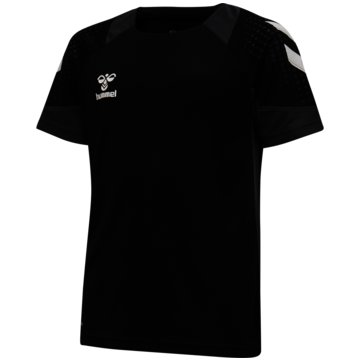 Hummel T-ShirtshmlLEAD S/S POLY JERSEY KIDS - 207394 schwarz