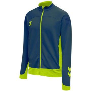 Hummel SweatshirtsLEAD POLY ZIP JACKET - 207399 blau