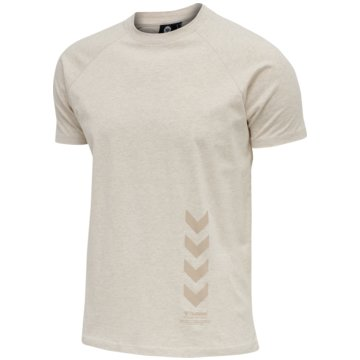 Hummel T-ShirtsCALEB T-SHIRT - 211161 beige