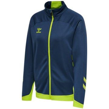 Hummel Sweatshirtshml LEAD WOMEN POLY ZIP JACKET - 211854 blau
