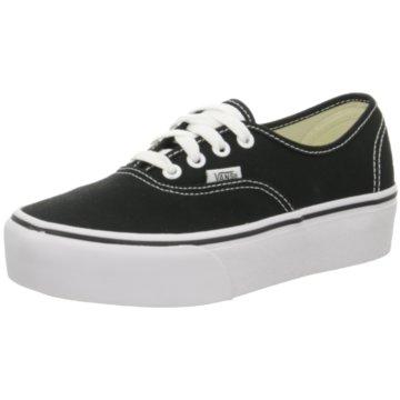 Vans Top Trends Sneaker schwarz