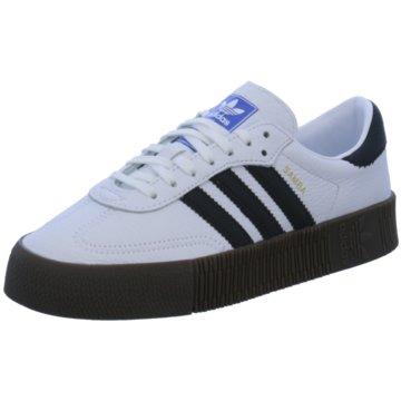 adidas Plateau Sneaker weiß