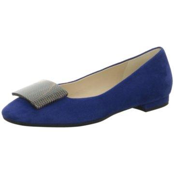 Moda di Fausto Eleganter Ballerina blau