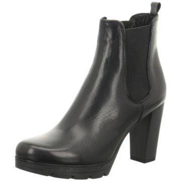 Fantasy Shoes Plateau Stiefelette schwarz