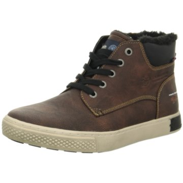 Tom Tailor Sneaker High braun