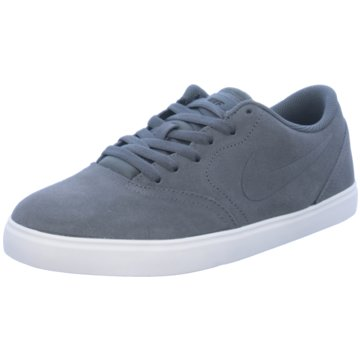 Nike Sneaker LowNike SB Check Suede (GS) schwarz