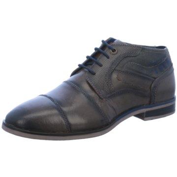 Tom Tailor Eleganter Schnürschuh braun