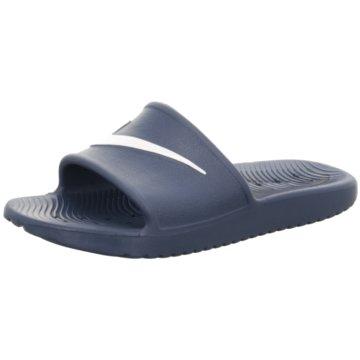 Nike Pantolette blau