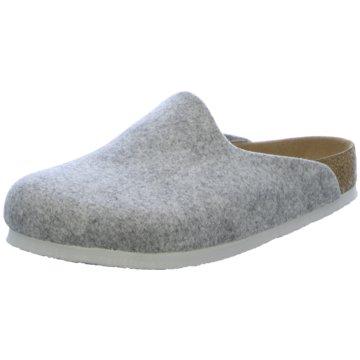 Birkenstock Hausschuh grau