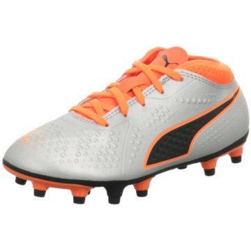 Puma Fußballschuh grau