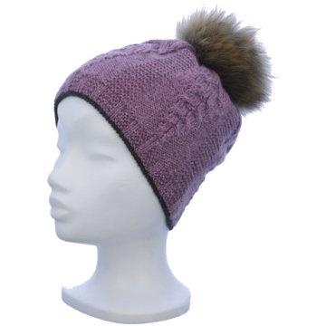 Rosenberger Mütze Damen rosa