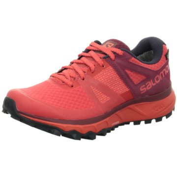 Salomon Trainings- und Hallenschuh rot