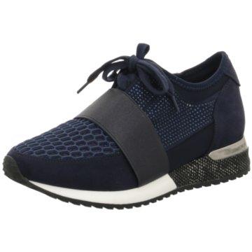 La Strada Sneaker LowSneaker with Strap blau