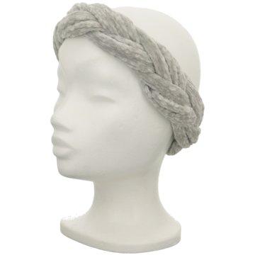 Seiden-Grohn Stirnbänder Damen grau