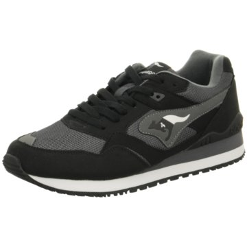 KangaROOS Sneaker LowRacer 2 schwarz