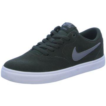 Nike Skaterschuh grün