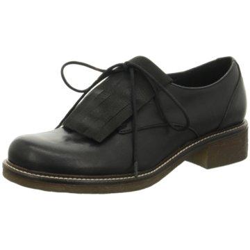 Donna Piu Top Trends Schnürschuhe schwarz