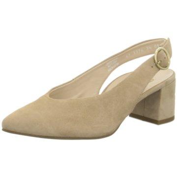 Paul Green Slingpumps beige