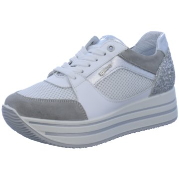 Igi&Co Plateau Sneaker weiß