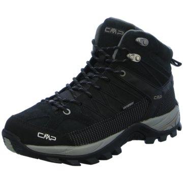 CMP F.lli Campagnolo Outdoor SchuhRIGEL MID TREKKING SHOE WP - 3Q12947 schwarz