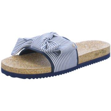 Flip-Flop Klassische Pantolette blau