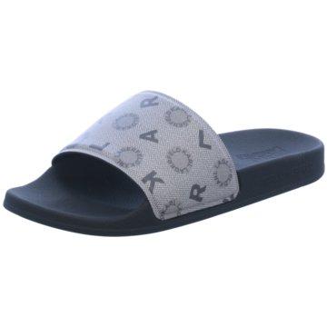 Karl Lagerfeld Pool Slides grau