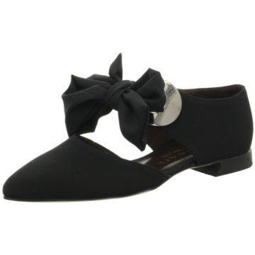 Brunate Klassischer Slipper schwarz