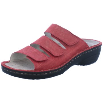 Rohde Komfort Pantolette rot