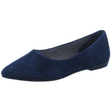 Vagabond Klassischer Ballerina blau